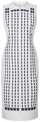 Akris Hotel Facade Midi Dress