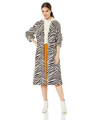 KENDALL + KYLIE Women's Long Trench Coat, S