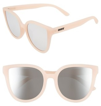 Women's Quay Australia Paradiso 52Mm Cat Eye Sunglasses - Pink/ Silver $50 thestylecure.com