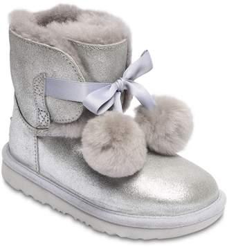 c0a2efd473e Kids Silver Ugg Boots - ShopStyle UK