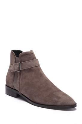 Kenneth Cole Reaction Date 2Nite Suede Buckle Bootie