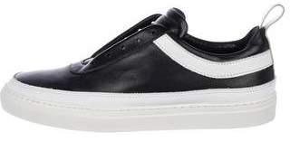 Public School Leather Low-Top Sneakers