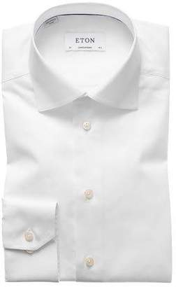 Eton Contemporary-Fit Twill Dress Shirt