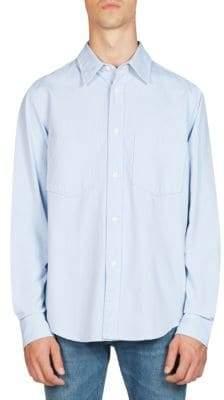 Acne Studios Lincoln Cotton Button-Down Shirt