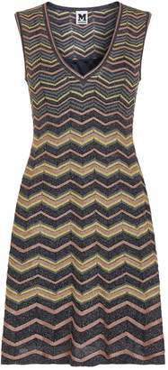 M Missoni Metallic Wave Sleeveless Dress