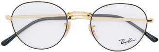 Ray-Ban two-tone round-frame glasses