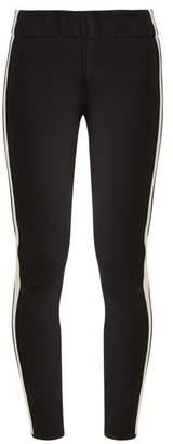 Bogner Moya Striped Ski Trousers - Womens - Black White