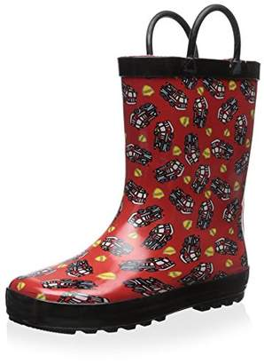 Lilly of New York Kid's Fire Truck Rain Boot
