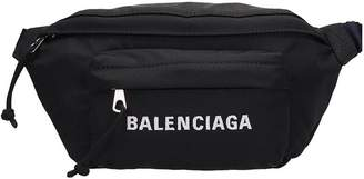 Black Technical Fabric Beltbag
