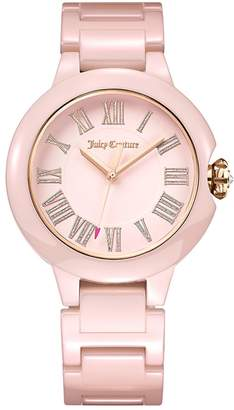 Juicy Couture Pink Burbank Watch