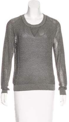 Jonathan Simkhai Mesh Long Sleeve Top