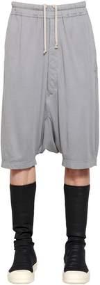 Rick Owens Drkshdw Light Cotton Jersey Shorts