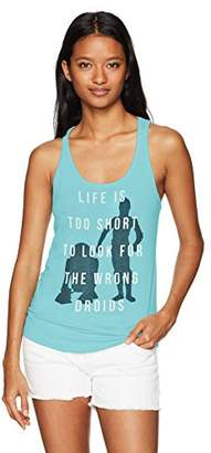 Star Wars Women's The Wrong Droids Ideal Racerback Graphic Tank Top