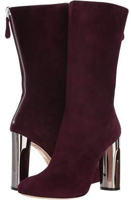 Alexander McQueen Sculpted Heel Fitted Bootie Women's Boots