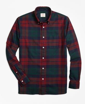 Tartan Oxford Sport Shirt $59.50 thestylecure.com
