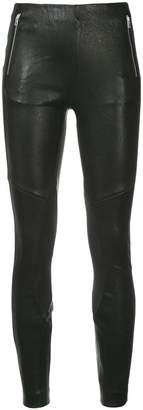 Rag & Bone skinny-fit biker leggings