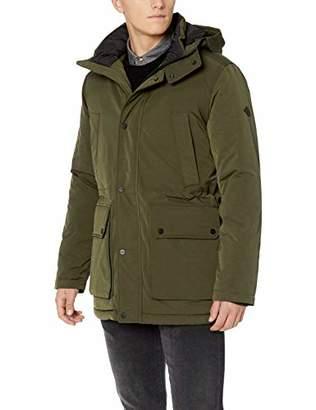 J. Lindeberg Men's Hooded Water Resistant Jacket