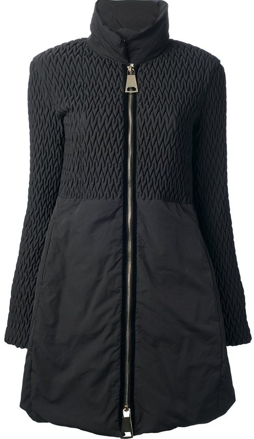 Emporio Armani zip-up coat