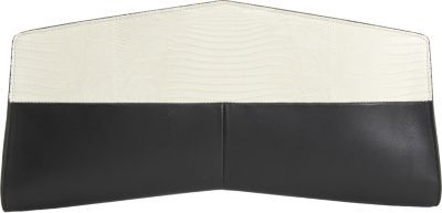 Narciso Rodriguez Tejus Elongated Chevron Clutch
