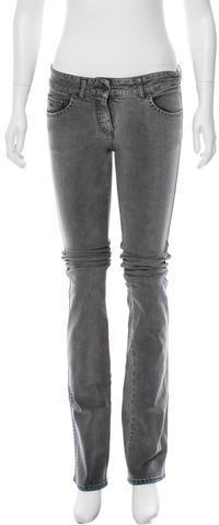 Stella McCartneyStella McCartney Mid-Rise Straight-Leg Jeans w/ Tags