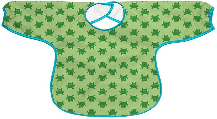 I play. Green Sprouts by i play. Frog Waterproof Bib - Baby