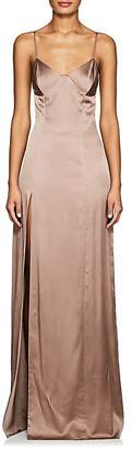 Mason by Michelle Mason WOMEN'S SILK CHARMEUSE GOWN