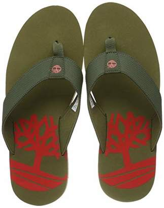 Timberland Men's Wild Dunes Synthetic Flip Flops,12.5 (47.5 EU)