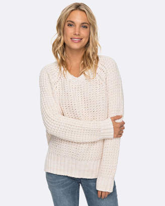 Roxy Womens New Shada V Neck Knit Jumper