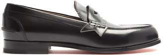 Christian Louboutin Monono leather penny loafers