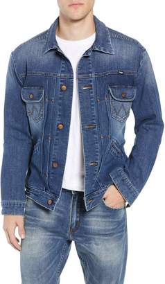 Wrangler Heritage Pleated Denim Jacket