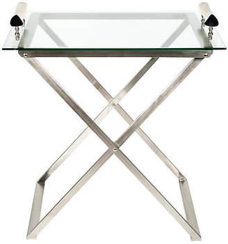 One Kings Lane Vintage Mid-Century Modern Foldable Bar Cart