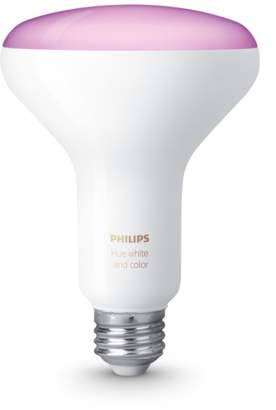 Apple Philips Hue White and Color Ambiance LED Flood Light Bulb BR30