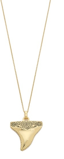 House Of Harlow Totemic Tooth Necklace