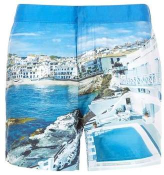 Burton Mens Photo Print Swim Shorts