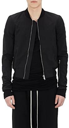 Rick Owens DRKSHDW RICK OWENS DRKSHDW MEN'S COTTON-BLEND CROP BOMBER JACKET $1,385 thestylecure.com