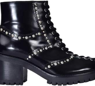 McQ Embellished Ankle Boots