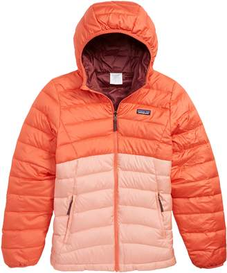 Patagonia Reversible Water Repellent 600 Fill Power Down Hooded Jacket