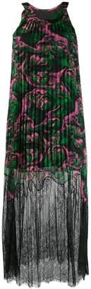McQ waves print pleated dress