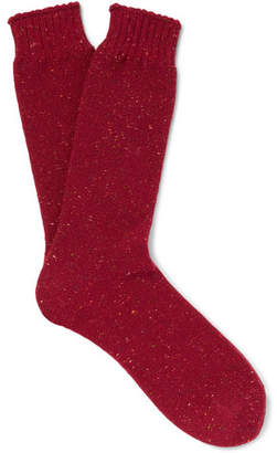 Mr P. Donegal Reverse-Knit Socks