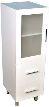 1200 Tall Boy Bathroom Cabinet with Two Drawers