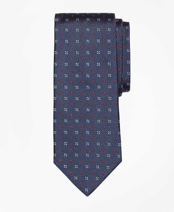Brooks Brothers Mini Alternating Flower Tie