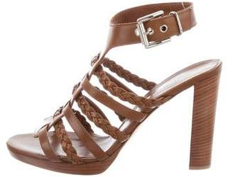 Gianvito Rossi Leather Ankle Strap Sandals w/ Tags