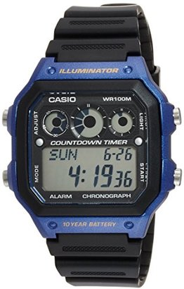 American Rag (アメリカン ラグ) - (アメリカンラグシー)AMERICAN RAG CIE CASIO カシオ COUNT DOWN TIMER カウントダウン タイマー 腕時計 WEB 限定 0061 BL Blue 101-BRI-AE1300WH BL メンズ