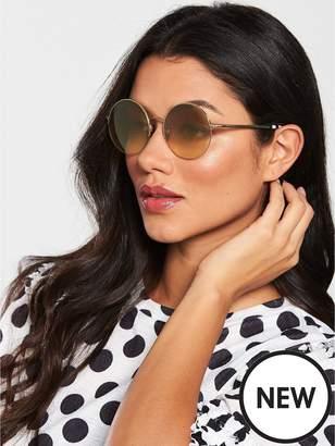 Burberry Bronze Round Sunglasses