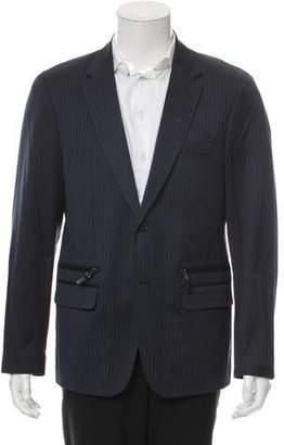 Michael Kors Striped Two-Button Blazer