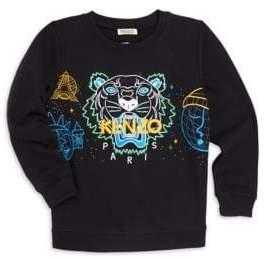 Kenzo Little Boy's& Boy's Tiger Sweater