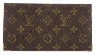 Louis Vuitton Vintage Monogram Checkbook Cover
