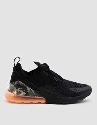 Nike 270 Sneaker in Black/Sunset Tint/Cargo Khaki