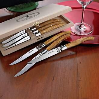 Jean Dubost Le Thiers Laguiole Steak Knife Set