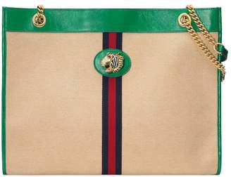 Gucci Online Exclusive Rajah large tote